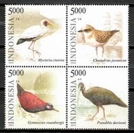 Indonesia 2014 / Birds MNH Aves Vögel Oiseaux / Cu10408  40 - Vogels