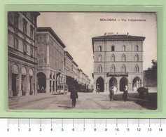 BOLOGNA Via Indipendenza _ Cartolina BN VG Rif.C0137 - Bologna