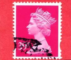 GB  UK GRAN BRETAGNA - Usato - 1996 - Regina Elisabetta II - Machin Decimale - 39 P - 1952-.... (Elizabeth II)