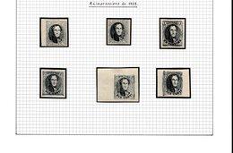 Réimpression De 1929 - 1849-1865 Medallions (Other)