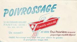 Rare Buvard Poivrossage Le Poivre Véritable - Buvards, Protège-cahiers Illustrés