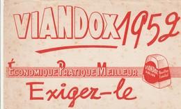 Rare Buvard Viandox 1952 - Autres