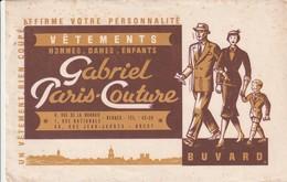 Rare Buvard Vêtements Gabriel Paris-Couture - Autres