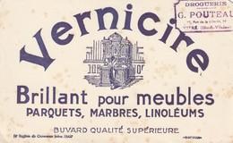 Rare Buvard Vernicire Brillant Pour Meubles - Blotters