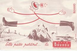 Rare Buvard La Botte Baudou - Autres