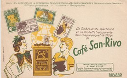Rare Buvard Café San-Rivo - Autres