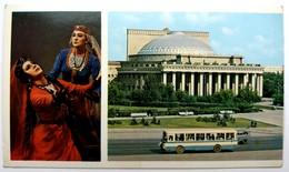 #423  Theater, Opera And Ballet - Tashkent, TAJIKISTAN - Postcard - Tadjikistan