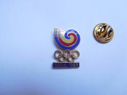 Beau Pin's En EGF , JO Jeux Olympiques Séoul 1988 - Olympic Games