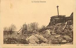-depts Div.-ref-AE729- Correze - Chapelle Et Rocher Du Rat Preès Peyrelevade - Chapelles - Croix - Carte Bon Etat - - France
