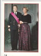 BELGIE / BELGIQUE / VERJAARDAGSKAART VOOR KONINGIN PAOLA / CARTE DE VOEUX POUR LA REINE PAOLA - Familles Royales