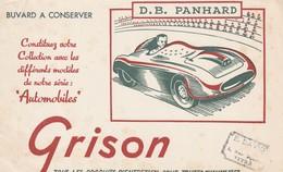 Rare Buvard Grison Entretien Chaussures Voiture D.B Panhard - Autres