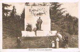 BRESCIA  -  MONUMENTO  ZANARDELLI  - 1919 - Brescia