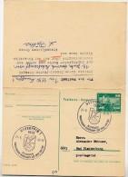 KANU TOURISTISCHER MEHRKAMPF Neuruppin 1981 Auf DDR P81 Postkarte Mit Antwort - Kanu