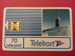 NORVEGE - Voss Lonahorgi SI-4 GOLD Chip USED 70u Very Rare NORWAY (CM1116) - Norway