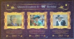 New Zealand 2016 Queen's 90th Birthday Hologram Set MNH - Unused Stamps