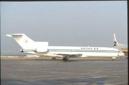 SLIDE / AVION / AIRCRAFT   KODAK  ORIGINAL    NIGERIA  B 727  5N-a,, - Diapositives
