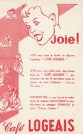 Rare Buvard Café Logeais Collection Petits Cyclistes - Autres
