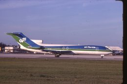 SLIDE / AVION / AIRCRAFT   KODAK  ORIGINAL   AIR FLORIDA  B 727  N271AF - Diapositives