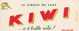 Rare Buvard Cirage De Luxe Kiwi - Autres