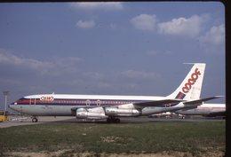 SLIDE / AVION / AIRCRAFT   KODAK  ORIGINAL   MAOF  B 720  4X-BMA - Diapositives