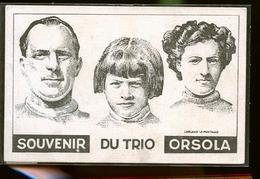 CIRQUE  LES TROIS ORSOLA                JLM - Cirque