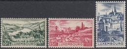 Luxemburg 1948 - Definitive Stamps: Landscapes - Part Set Mi 432-434 ** MNH - Luxembourg