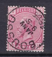 N° 38 : BOUSSU - 1883 Léopold II