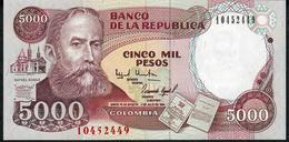COLOMBIA PP440 5000 PESOS 1994  UNC. - Colombie