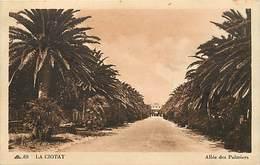 -depts Div.-ref-AE721- Bouches Du Rhône - La Ciotat - Allee Des Palmmiers - Carte Bon Etat - - La Ciotat
