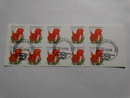 Année 2001-carnet 40 -obl Premier Jour. - Carnets 1953-....