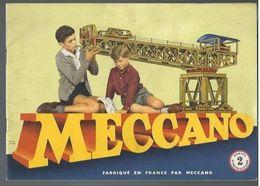 Manuel D'instructions Meccano 2 La Mécanique En Miniature De 1960 - Jouets Anciens