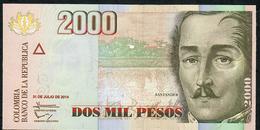 COLOMBIA PP457y 2000 PESOS 2014  UNC. - Colombia