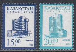 Kazakhstan 1998 - Definitive Stamps: Astana - Mi 217-218 ** MNH - Kazakhstan