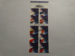 Année 2004-carnet -obl Premier Jour.Union Européenne. - Carnets 1953-....