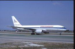 SLIDE / AVION / AIRCRAFT   KODAK  ORIGINAL   PIEDMONT  B 767 - Diapositives