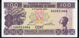 GUINEA P30a 100 FRANCS 1985.  UNC. - Guinée