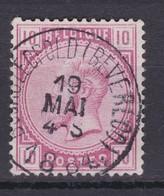N° 38 : BOURG LEOPOLD BEVERLOO  COBA +8.00 - 1883 Léopold II