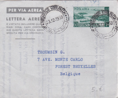 Somalie / Somalia - Entier Postal Lettre Aérienne - Lettera Aerea - 1958 - Somalia (1960-...)