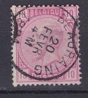 N° 38 Défauts  BEAURAING - 1883 Léopold II