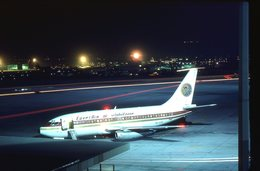 SLIDE / AVION / AIRCRAFT   KODAK  ORIGINAL  EGYPTAIR  B 737  SU-AYO - Diapositives