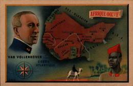 Afrique Occidentale Francaise - Van Vollenhoven - Cartes Géographiques