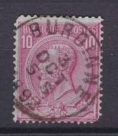 N° 46  Défauts BURDINNE - 1884-1891 Léopold II