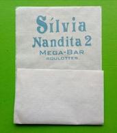 Servilleta,serviette Silvia Nandita 2. Mega Bar,Roulottes - Serviettes Publicitaires