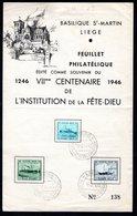 BASILIQUE ST-MARTIN Souvenir Numéroté 138. - Belgique