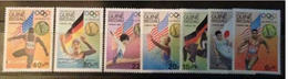 GUINEA-BISSAU 1984  LOS ANGELES 84' SUMMER OLYMPICS SAILING SETS MNH 15991-7 - Summer 1984: Los Angeles