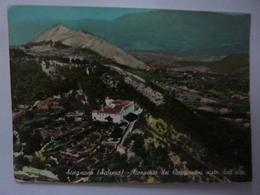 """Cartolina """"SICIGNANO ( Salerno ) - Convento Dei Capuccini Visto Dall'alto"""" - Italia"""