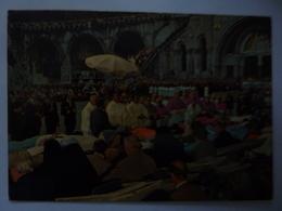 """Cartolina Viaggiata """"LOURDES  Esplanade - Benedizione Degli Ammalati"""" 1983 - Lourdes"""