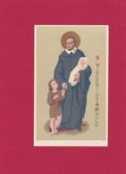 Devotieprent S. Vincentius A Paulo - Religion & Esotericism