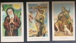 """Santino Holy Card """" S. FRANCESCO DA PAOLA   """" Ed. GMI 79 Bis - Religione & Esoterismo"""
