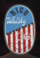 Etiquette Whisky Cola   -  Rico  -  Galibert Et Varon  Jarnac  (16) - Whisky